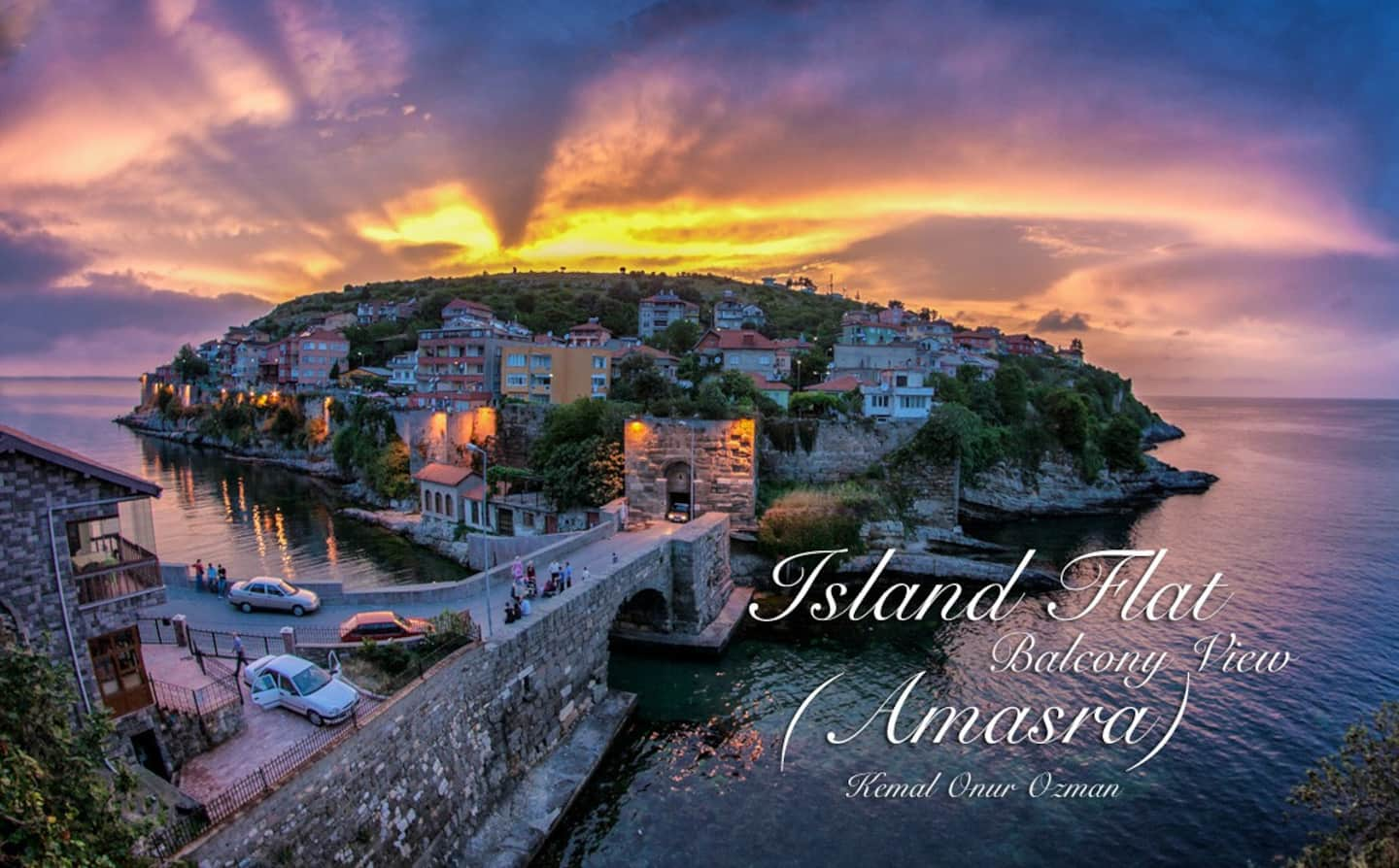 AirBnB in Turkey, Amasra: Inner castle location, and island views!