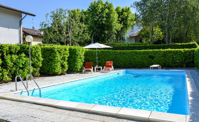 Cozy lovely flat with swimming pool - Salice Terme