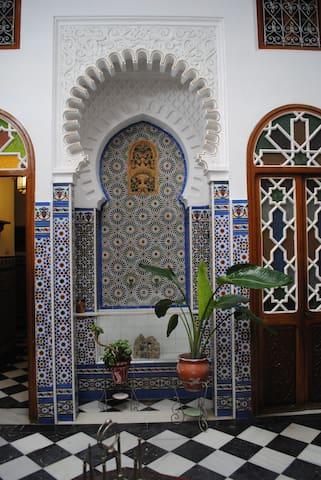 Maison Arabe type Riad dans médina - Tetouan - Hus