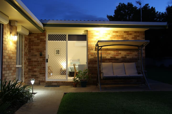 Comfortable with private access and own ensuite.