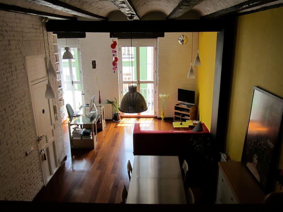 Loft con encanto y color en ruzafa lofts en alquiler en - Loft valencia ...