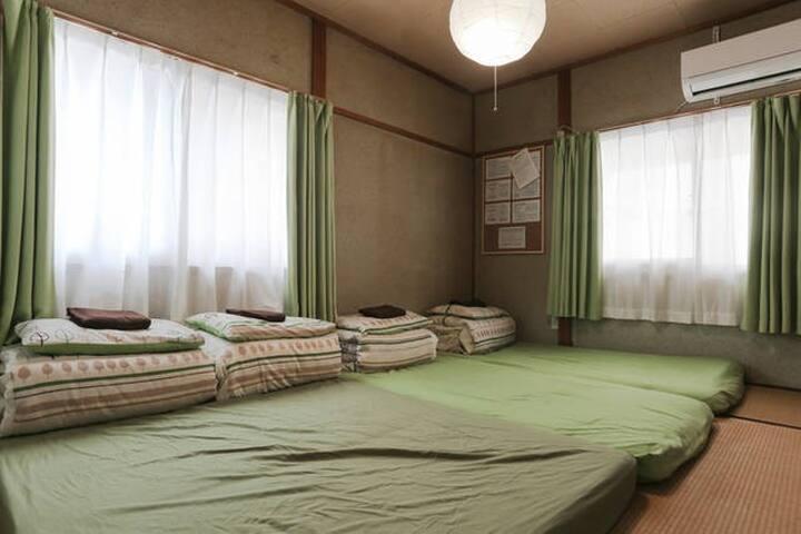 ©️❤︎Hostel Ginkakuji❤︎PrivateTatami Futon/Bunk-Bed