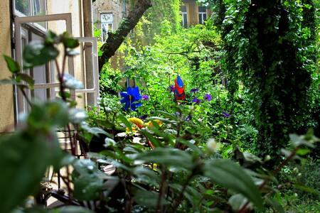 quiet flat & nice garden in center - Budapest