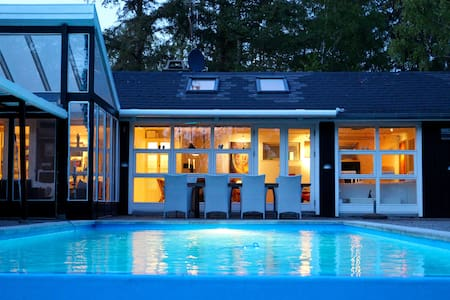 Summerhouse with heated pool - Vejby - House