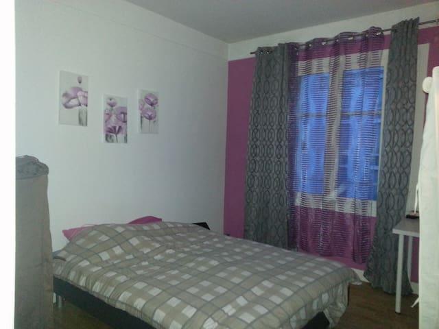 Belle chambre dans F3 tout équipé - Nancy - Apartemen