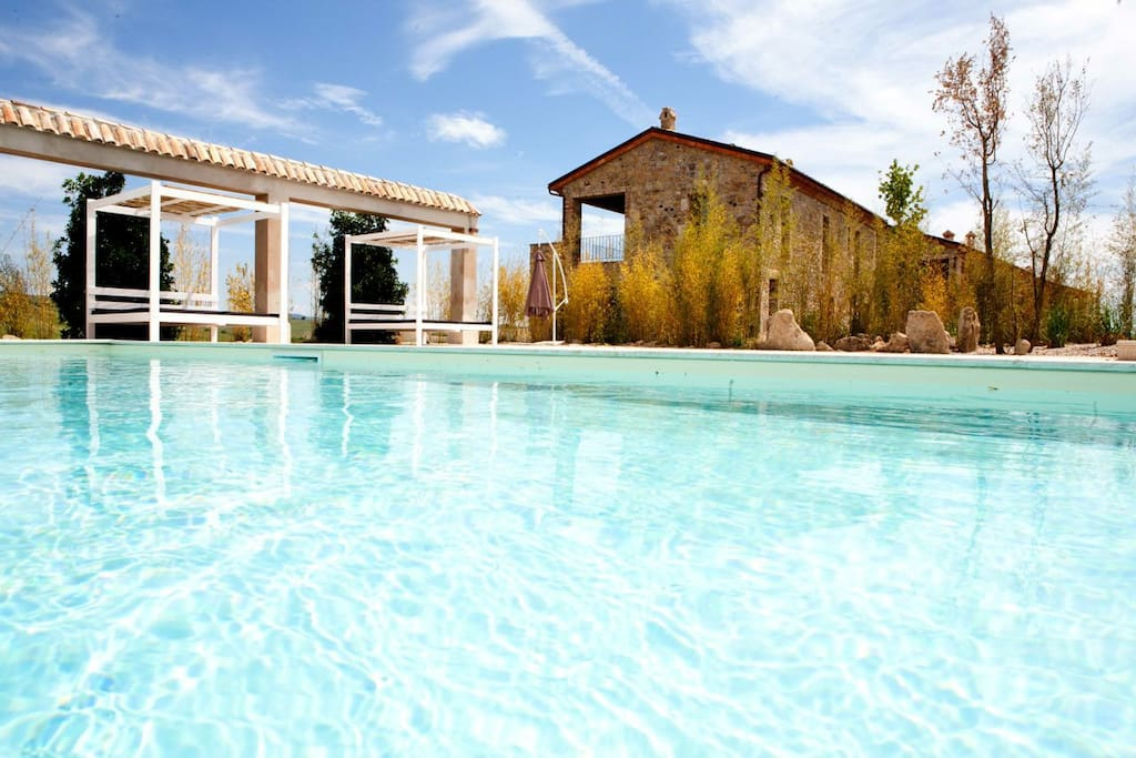 TUSCANY FOREVER RESIDENCE  VILLA VOLTERRA GROUND FLOOR APARTMENT BRING THE KIDS !