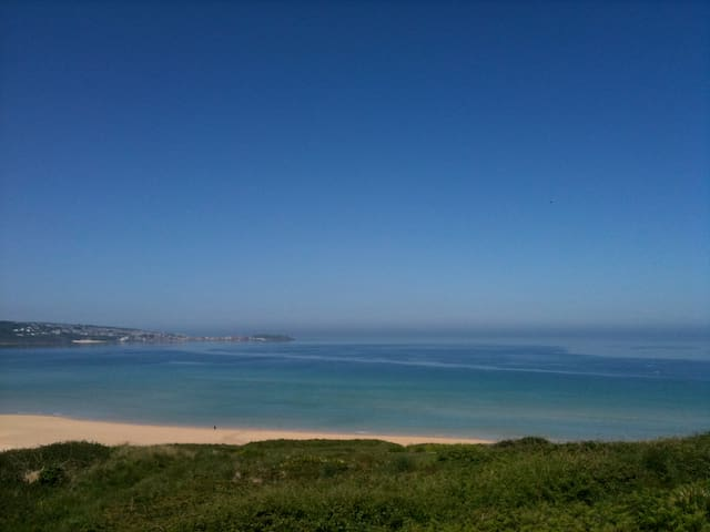 Amazing seaside views for 20 guests - St Ives - Casa