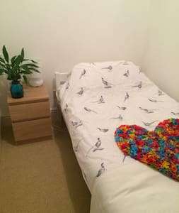 Daisy cow room - Sunny small single room - Dunbar - Bed & Breakfast