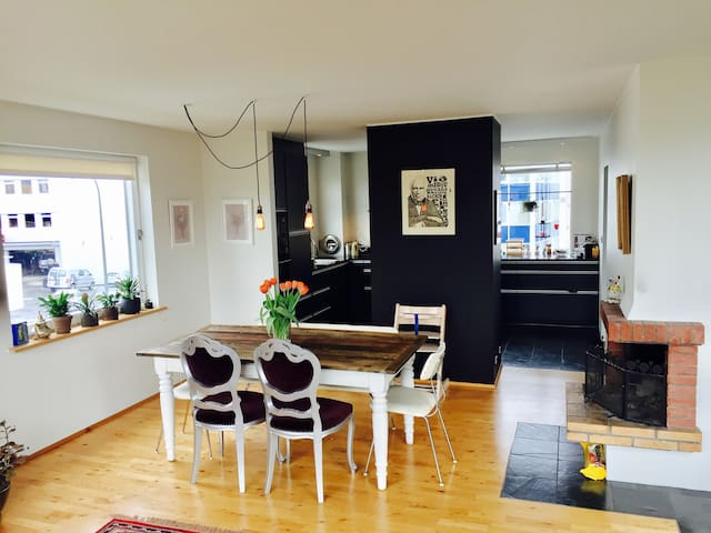 Perfect flat for families  downtown Reykjavík.