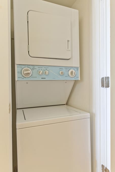 In room washer dryer