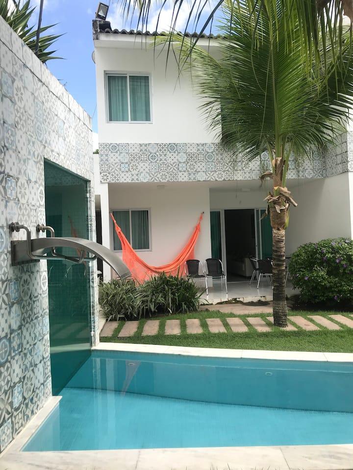 Casa Flat em PORTO de GALINHAS, 4 quartos, split