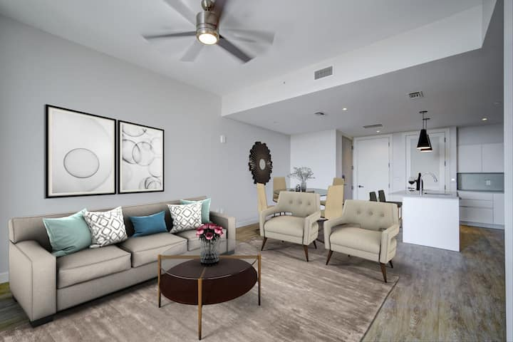 Relax in your own space | 2BR in Coral Gables