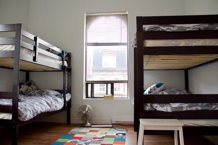Apt 3-A1 @ The Parkdale Hostellerie (Female Dorm)