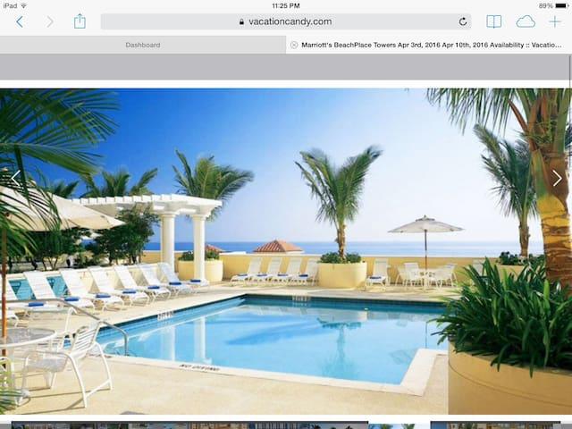 On Fort Lauderdale Beach, March 11 - 18, Marriott - Fort Lauderdale - Teilzeitwohnung