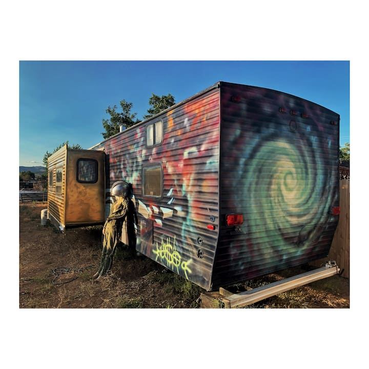 Trailer / Spaceship for Burning Man 2019