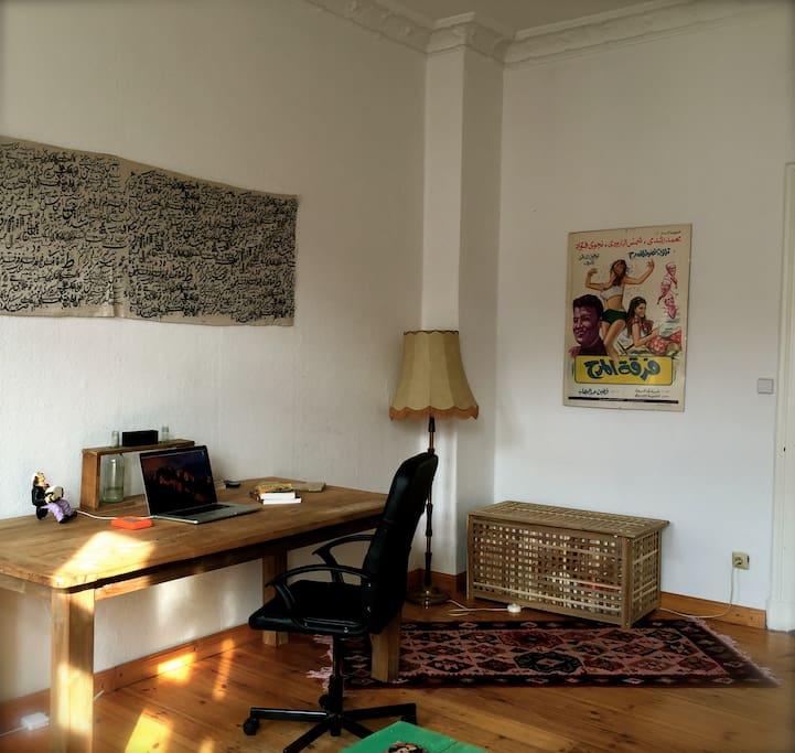 Living room - Home office desk