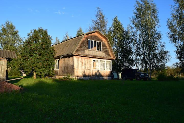 Дом на краю деревни для спокойного отдыха - Porkhovsky District - Rumah