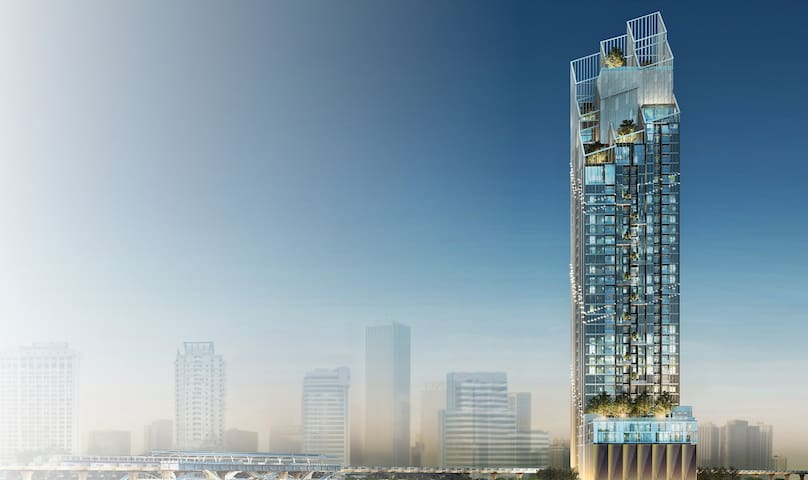 #95 NEW! DOWNTOWN LUX 2BRM 2BATH@NANA BTS,ASOK BTS
