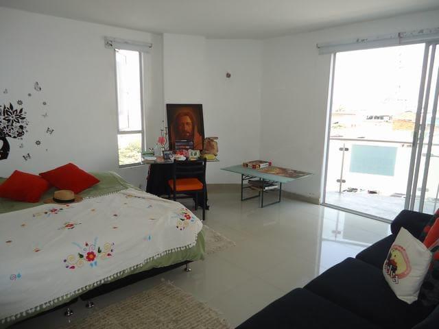 habitación cómoda espaciosa   ventilada. - Bucaramanga - Condominium