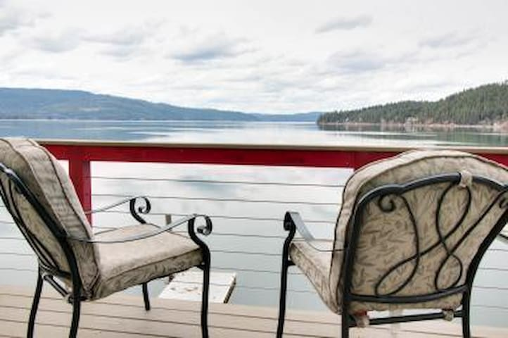 The Bayview Cottage - Private Dock & Balcony - Harrison - Casa