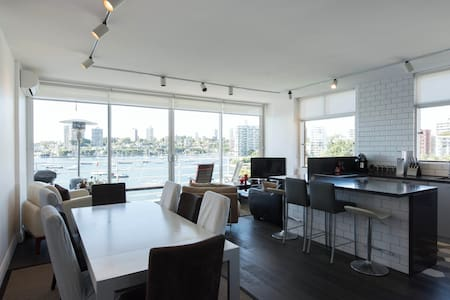 Luxurious Twin Singles/King with Panoramic Views - Elizabeth Bay - 公寓