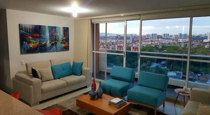 Confortable Apartamento con espectacular vista