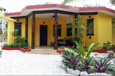 Property With Two Casitas, Near Beach, Village - Chemuyil - Villa - 1