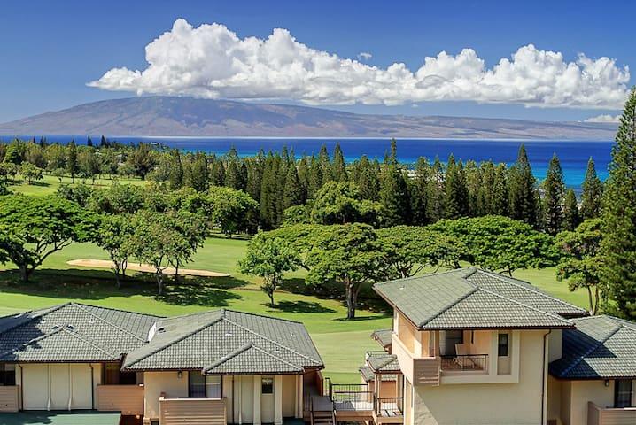 Kapalua Golf Villa 19V1 Gold Ocean View