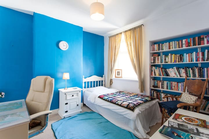 Lovely bright room, Roath, Cardiff - Cardiff - House