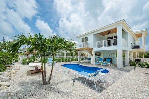Flexible Cancellation on Future Bookings! Private Pool-Dock, Canal Front, Beach!