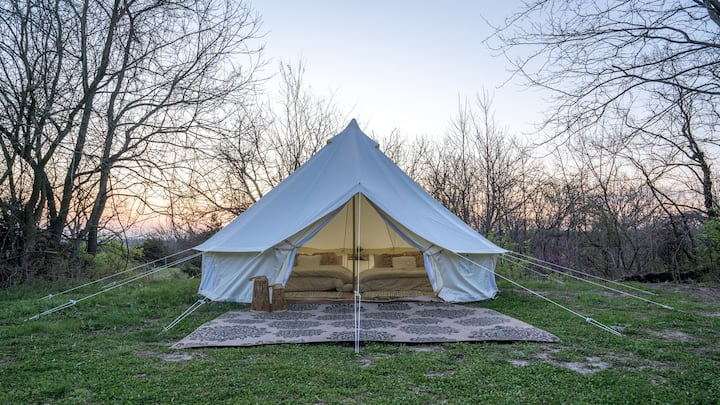 NEW Glamorous Glamping Suite with 2 Full Size Beds