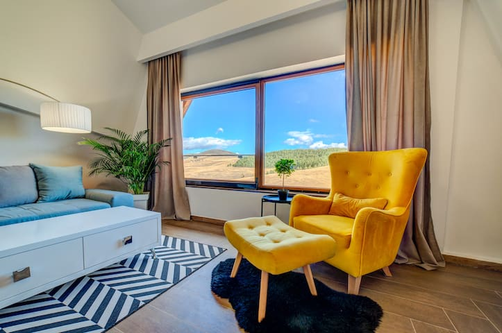 Nature view. Modern,comfortable and spacious apartment.
