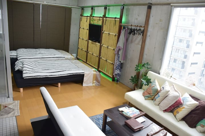 Ikebukuro 5min /4Bed  Max 6ppl