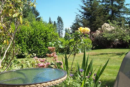 Garden oasis retreat - Courtenay