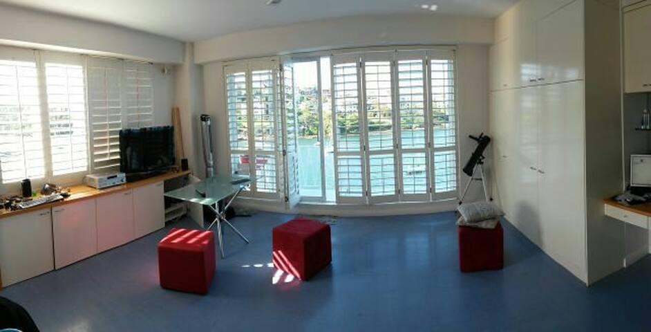 Уютная студия с видом на залив