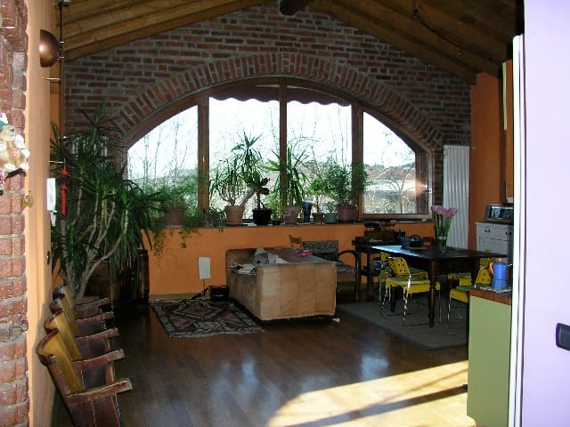 Barn House at 15 minutes from Milan - Casarile - Huis
