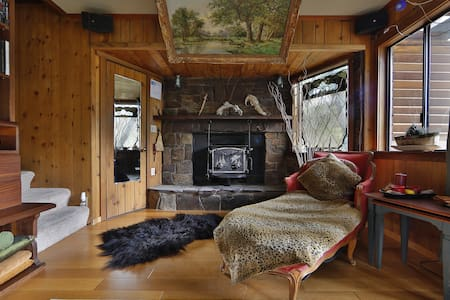 Riverfront mountain cabin - Casa