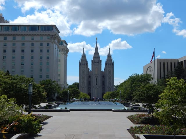 Downtown SLC!/Convention Area