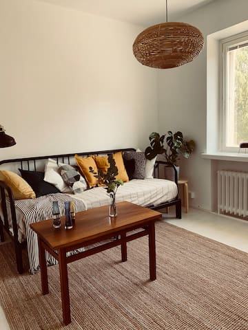 Cozy Nordic two-room apartment close to the city!
