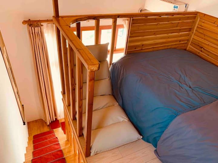 单床房(1.2米宽床一张)