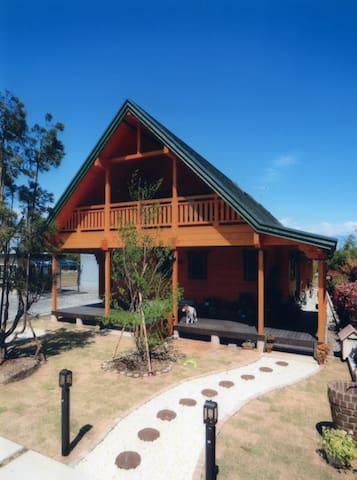 ログハウスに泊まりませんか? Tatami log house - Kuki-shi - Haus