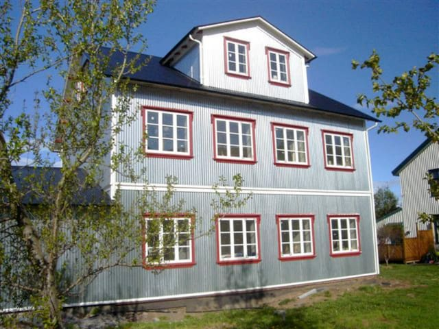 Quiet apartment, Husavik, 2nd floor - Húsavík - Apartamento