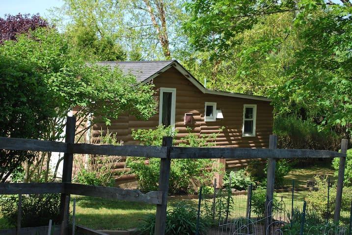 Log Cabin in Newport, RI, Vicinity