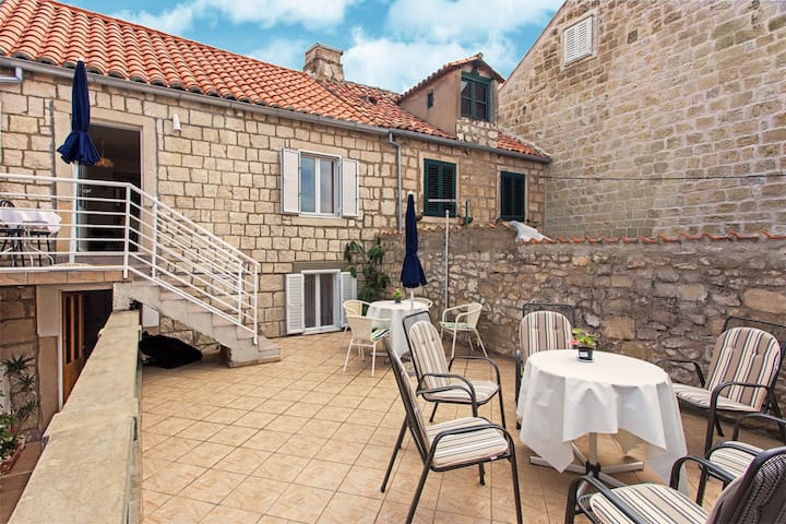Stone House in Old town_Apartment A3 Studio (2+1) - Cavtat - Appartement