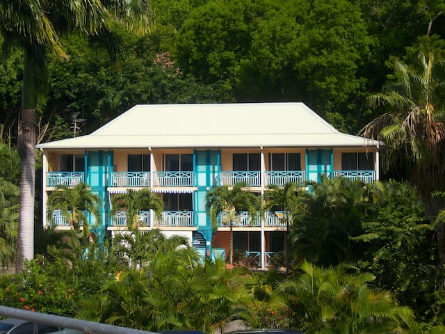Studio entre Mer et Jardin Tropical - Sainte-Anne - Appartement