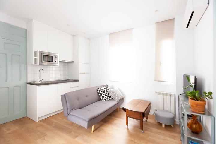 Apartamento dos habitaciones en Pte. de Vallecas