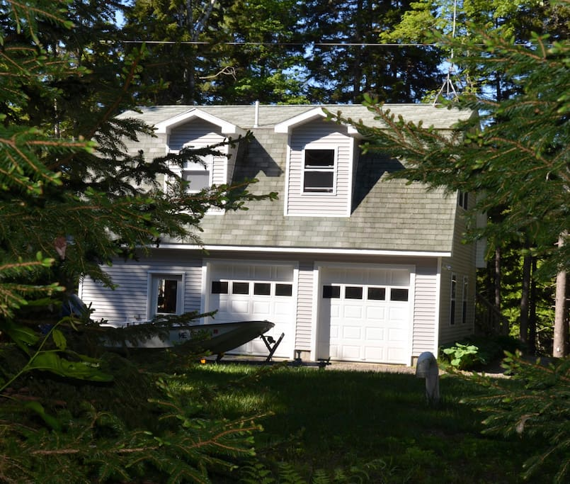 Apartments In Maine: Apartment In The Maine Woods.