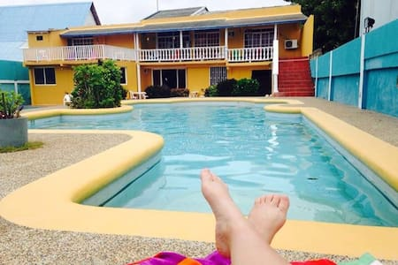 Habitación en Green Wave House - San Andres