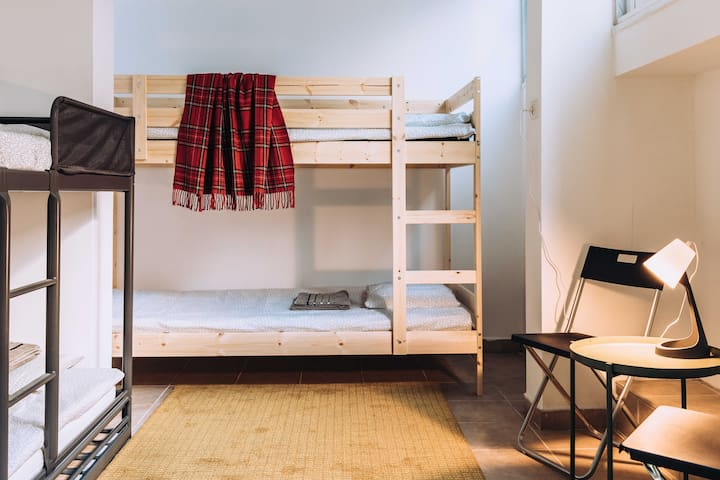 ☆Mom&Max, Bed in 4Bed Mixed Dorm☆