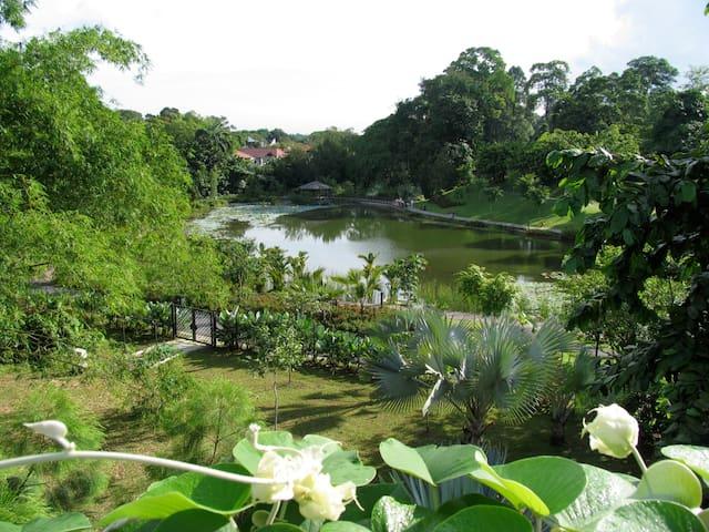 Next to Botanical Gardens